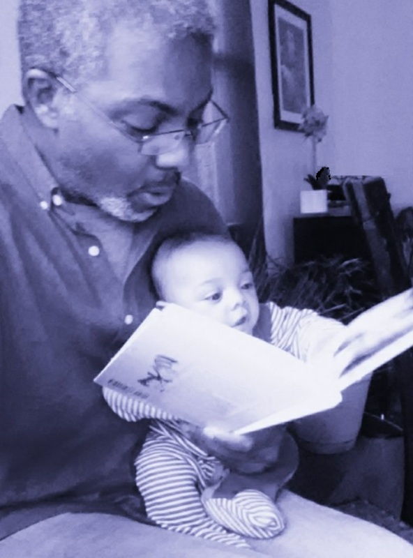 Reading Dr Seuss to Infant